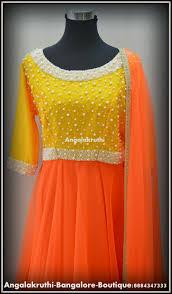 Designer Salwar Kameez Boutique In Bangalore Designer Anarkali By Angalakruthi Boutique Bangalore Pearl