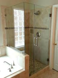 brave cost of frameless shower doors shower doors cost medium size of shower doors installation enclosures