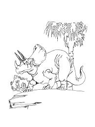 Coloriage Triceratops En Ligne Coloriage Dinosaure Magique Ligne