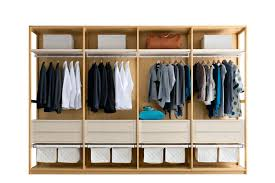 Modul Begehbarer -Kleiderschrank / Holz / aus Aluminium - Napol ...