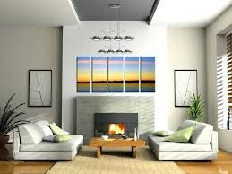 office appealing wall design ideas for living room 6 poster beautiful modern pictures
