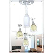 chandeliers chandelier glass cup modern minimalist fashion aluminum led patch lamp hanging creative for study