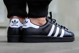 adidas shoes superstar black. adidas superstar black white shoes a