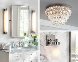 Pottery barn bathroom lighting Back Porch How To Light Up Your Bathroom With Perfection Pottery Barn How To Perfectly Light Your Bathroom Pottery Barn
