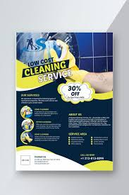 Commercial Cleaning Flyers Low Cost Cleaning Service Flyer Template Ai Free Download