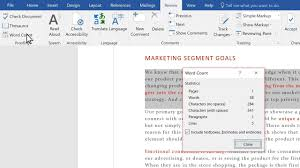 Mirco Soft Word Check Your Word Count In Microsoft Word