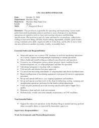 Cnc Lathe Operator Resume Sample Best of Machine Operator Resume Sample S Machine Operator Resume Sample