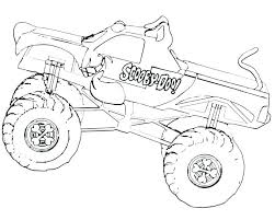 El Toro Loco Monster Truck Coloring Page Grave Digger Pages Download