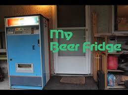 Vending Machine Fridge Amazing My Beer Fridge Is A Vending Machine YouTube