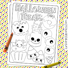 Cute Halloween Coloring Pages For Kids Cute Halloween Coloring Page For Kids Fun For Little Ones