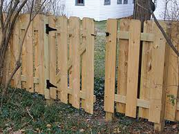 wood picket fence gate. Small Gate In Fence. Wood Picket Fence