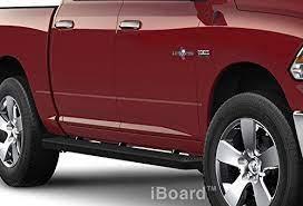 Matte Black 4 Running Boards 09 16 Dodge Ram 1500 10 16 Ram 2500 3500 Crew Cab Car Accessories Online Market Dodge Ram Dodge Ram 1500 Crew Cab