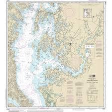 Chesapeake Bay Maps Charts Noaa Chart Chesapeake Bay Cove Point To Sandy Point 12263