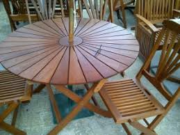 round wood outdoor table. Simple Wood Round Hardwood Furniture Set Intended Round Wood Outdoor Table M