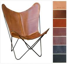 leather erfly chair cover simple leatyou erfly chair on