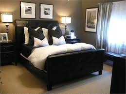 loving the taupegrey walls with the charcoal pillows and black and white photos black and white bedroom furniture