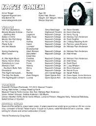 Musical Theater Resume Template Amazing Sample Acting Resume No Experience Browse Student Actor Resume