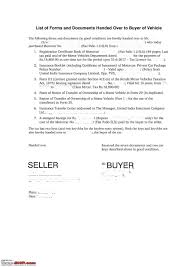 As Is Document For Car Sale Need Advice Car Sold But Not Transferred Page 2 Team Bhp