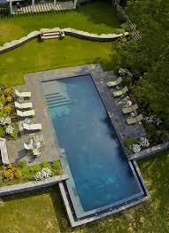Infinity Pool Backyard Minimalist Cool Inspiration Ideas