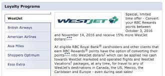 Rbc Avion Transfer Bonuses Canadian Kilometers