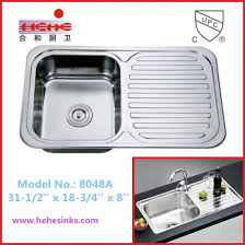 counter top stainless steel kitchen sink with drain board stainless steel sink bar sink