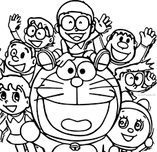 I believe that, that doraemon characters and other coloring pages can help to build motor skills of your kid. Doraemon Coloring Pages 1092x1061 Download Hd Wallpaper Wallpapertip