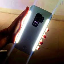 Light Up Samsung S9 Case Us 6 41 40 Off For Galaxy S10 S8 S9 Plus Anti Fall 3 Generations Light Up Selfie Flash Phone Case The Flash Protector Cover Bag For Samsung S10 In