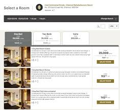 Ihg Category Chart Ihg Points Value How To Save The Most Money On Your Next