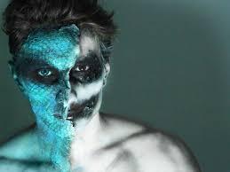 caracterización snake demon fantasy makeup tutorial you