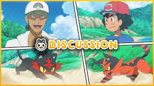 Ash Time Travels! Young Kukui! Will Ash's Torracat Evolve?   Pokemon Sun  and Moon Discussion - YouTube