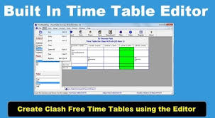 Time Table Creator Timetable Creator Pics Download