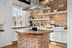 Country Style Kitchens Modern Duplex Apartment In Sweden With Country Style Kitchen