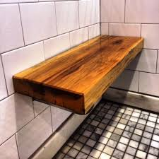 teak shower bench wall mounted remarkable rustyridergirl decorating ideas 5