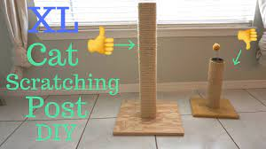 diy cat scratcher scratching post you