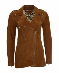 Designer Suede Jacket Bydanie Bydanie Camel Colored Suede Jacket
