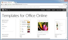 microsoft office catalog templates use microsoft office templates from a browser with office online