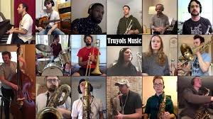 """Remote Big Band presents: """"Another Day (in quarantine)"""" by Antonio Truyols  