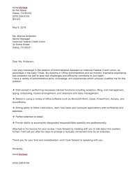 Experienced Professional Cover Letter Cover Letter For Administrative Position With No Experience