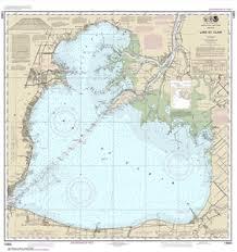 14850 Lake St Clair Nautical Chart