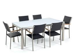 medium size of rectangular rattan garden table and 6 chairs round furniture dining set outdoor patio
