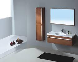 modern single bathroom vanity. Inspiring Modern Wall Mount Single Bathroom Sink And Vanities For Espresso Ikea With Russet Cherry Vertical Tall Cabinet Mirror Frameless Vanity