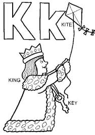 Small Picture Kite Alphabet Coloring Pages Free Alphabet Coloring pages of