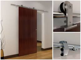 image of modern barn door hardware