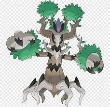 Pokémon x und y trevenant phantump pokédex, evolution tree, Kunst,  charizard png