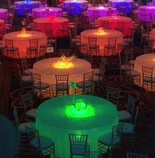 diy wedding reception lighting. Beautiful Example Of Different Color Table Uplighting Colors Wedding Reception Diy Lighting D