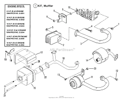 25 hp kohler engine parts diagram luxury snapper be 33 quot 13 hp rear engine rider