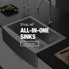 all in one sinks