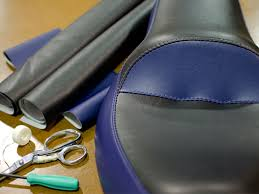 diy recovered motorcycle seat