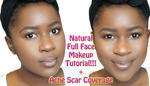 natural full face makeup tutorial for brown skin acne coverage mona b you