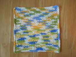 Easy Crochet Dishcloth Patterns Stunning Simple Washcloth Free Crochet Pattern